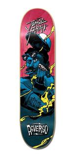 Patineta Jorge Farah Pekas Tabla Reverso Skateboards Skate