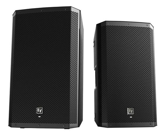 2 Caixas Acústica Ativa Electro Voice Zlx12p 1000w