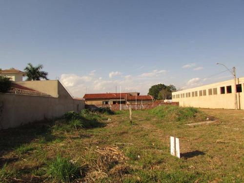 Imagem 1 de 6 de Terreno, 700 M² - Venda Por R$ 570.000,00 Ou Aluguel Por R$ 1.000,00/mês - Jardim Astúrias I - Piracicaba/sp - Te1441