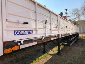 Semirremolque Cormetal Okm,3 Ejes,nueva Configuración.52.000