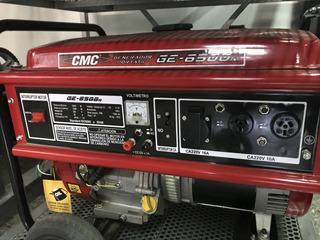 Generador Eléctrico Cmc 6500 R 5.5 Kva 13hp ** Exhibicion **