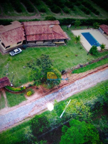 Chácara Com 4 Dormitórios À Venda, 6100 M² Por R$ 850.000,00 - Aleluia - Cesário Lange/sp - Ch0039
