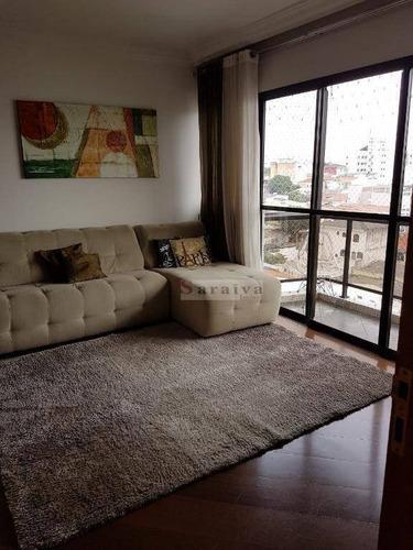 Imagem 1 de 20 de Apartamento À Venda, 107 M² Por R$ 580.000,00 - Santa Paula - São Caetano Do Sul/sp - Ap1333