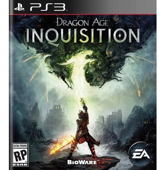 Dragon Age Inquisition Ps3 Midia Digital