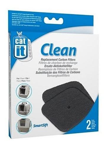 Repuesto Filtro Baño Sanitario Gato Catit Pack 2 Unidades