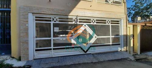 Sobrado Com 4 Dormitórios À Venda, 250 M² Por R$ 590.000,00 - Vila Brasil - São Paulo/sp - So0389