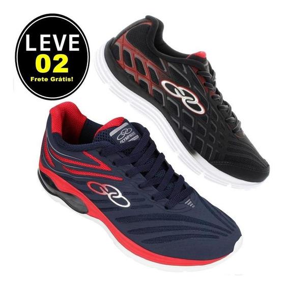 Kit! Leve 02 Tênis Olympikus N°43 - Compre Hoje Leve Brinde