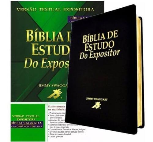 A Bíblia De Estudo Notas Do Expositor Ao Final De Cada Frase