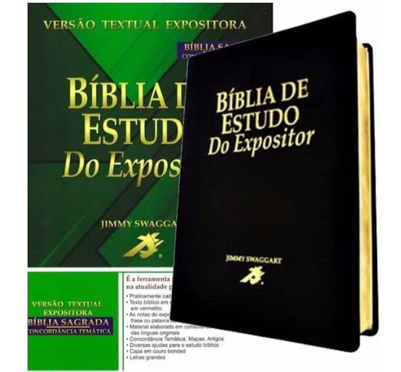 Bíblia De Estudo Do Expositor Versículo Por Versículo Notas