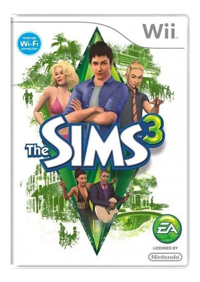 The Sims 3 Wii Mídia Física Pronta Entrega