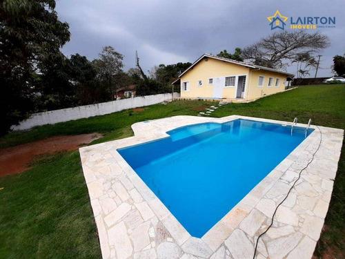 Imagem 1 de 24 de Chácara Com 3 Dormitórios À Venda, 1065 M² Por R$ 550.000 - Canedos - Piracaia/sp - Ch1475
