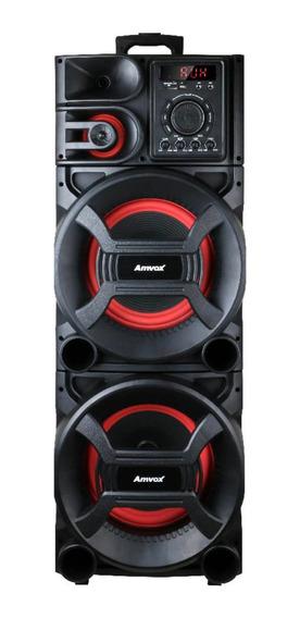 Caixa de som Amvox ACA 1501 NEW X sem fio Preto 110V/220V