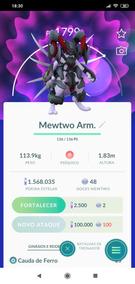 Pokemon Go - Lendário - Mewtwo - Armadura - Exclusivo!