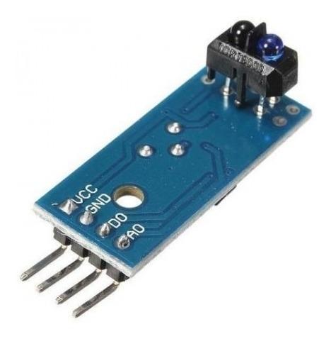 2 X Modulo De Sensor De Linha Infravermelho Ir Tcrt5000