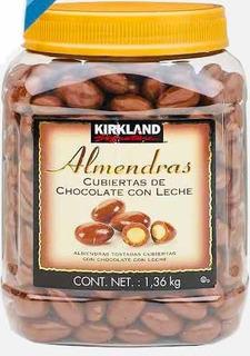 Almendras Cubiertas De Chocolate Con Leche Kirkland 1.36 Kg