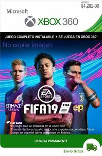 Fifa 19 Xbox 360 - Español Latino - Envío Gratis - 18 17 16