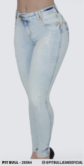Cigarrete Collor Pit Bull Jeans Coleçao Nova Ref 26564