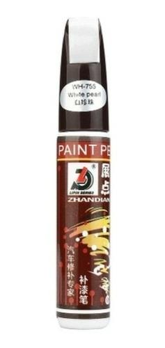 Imagen 1 de 1 de Lapiz Quita Repara Rayas Rayones En Pintura Blanco Perlado
