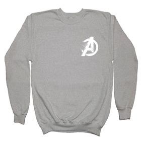 Avengers Endgame Sudadera Fade Logo Hombre Mujer Y Niños