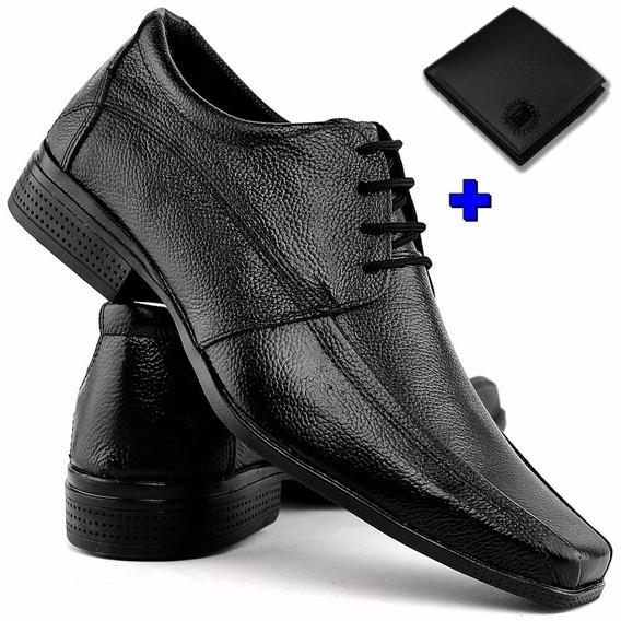 Sapato Preco Baixo Mais Carteira Brinde Kit Lincoln Shop
