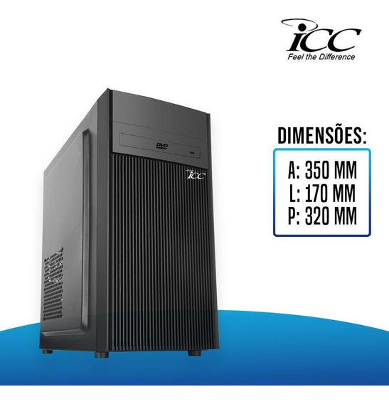 Computador Intel Core I5 3.2 Ghz 8gb Hd 1 Tera Com Dvdrw.