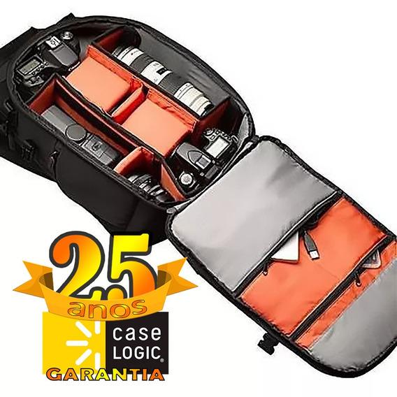 Mochila Case Logic Dcb-309 P/ Câmera Dslr Canon Nikon Sony