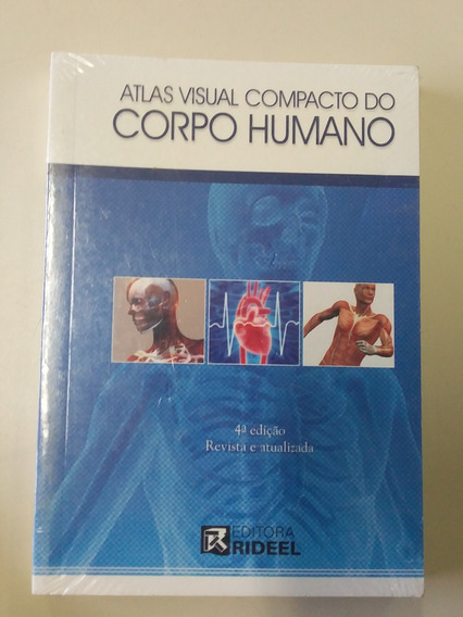 Livro Atlas Visual Do Corpo Humano Novo E Lacrado