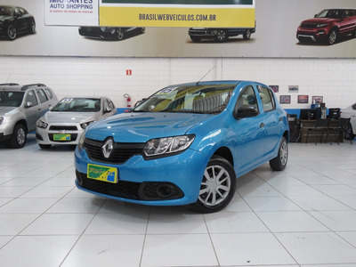 Renault Sandero Authentique 1.0 16v Flex 4p Completão C/ Abs