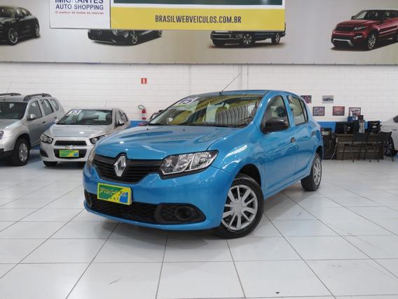 Renault Sandero Authentique 1.0 16v Flex 4p Completão C/ Abs