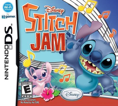 Imagen 1 de 3 de Juego Nintendo Ds Stitch Jam Nuevo Sellado Orig Replay