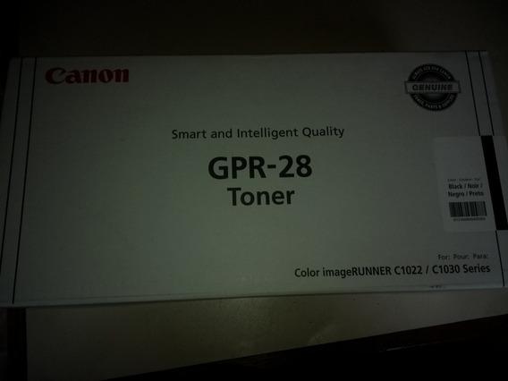 Gpr 28 Toner Original Lacrado Cor::black