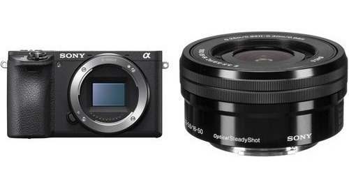 Camera Digital Sony A6500 + Lente 16-50 E 3.5-5.6 Pz Oss 6500