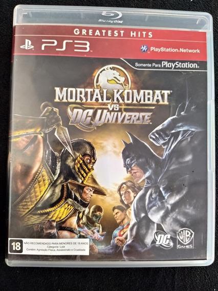 Mortal Kombat Vs Dc Universe Greatest Hits Ps3 Mídia Física