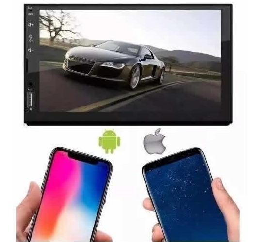 Mp5 Play 2 Din E Tech Bt Espelha Ios Android Full Touch Top