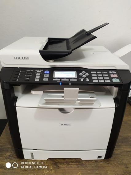 Impressora Multifuncional Ricoh Sp310sfnw + 4 Toner