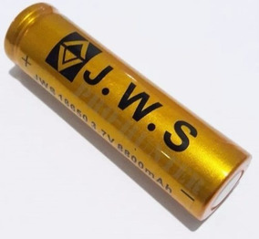 Carregador + 5 Bateria Jws Recarregável 18650 3.7v 5200mah