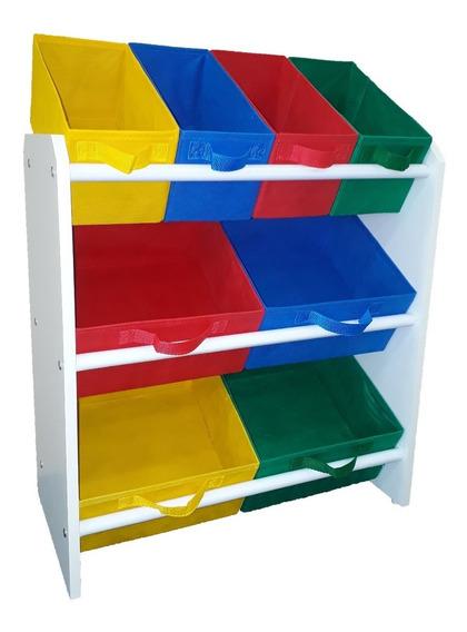 Organizador Infantil Porta Brinquedos Montessoriano Médio C