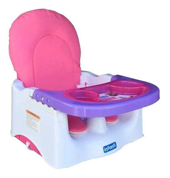 Silla Booster De Comer Para Bebe Infanti Portatil Creciendo