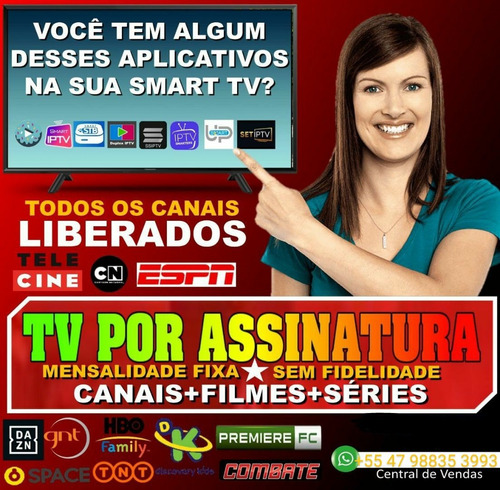 Imagem 1 de 5 de Pacote Completo De Tv