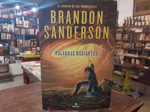 Archivo Tormentas 2. Palabras Radiantes - Brandon Sanderson