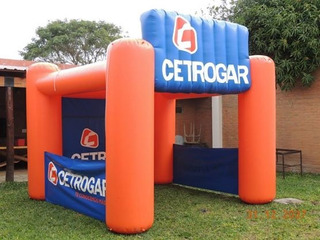 Carpa Inflable Tipo Stand Publicitario