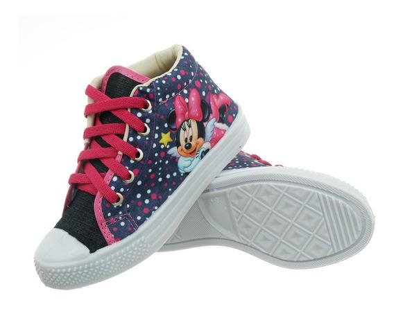 Botinha Tênis Infantil Minnie Princesas Promoção