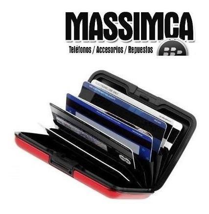 Aluma Wallet Tarjetero De Aluminio Porta Tarjetas Massimca