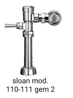 Fluxometro Sloan Mod.110-111 Gem2 Para Wc
