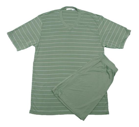 Pijama Liganete Masculino Malha Fria Verão