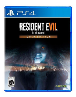 Resident Evil 7 Gold Edition Ps4 Fisico Sellado Original