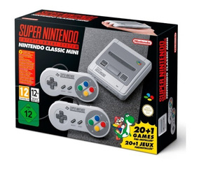 Console Super Nintendo Classic Edition - Envio Imediato