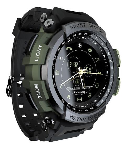 Reloj Inteligente Lokmat Mk28 Bt4.0 Impermebale Para Hombres