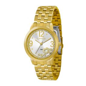 Kit Relógio Lince Feminino Lrg4254l K062