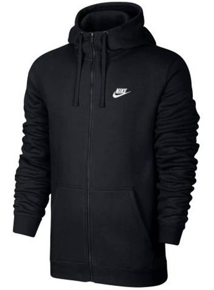 Jaqueta Masculina Nike Hoodie Club 804389 | Katy Calçados